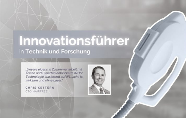 hairfree innovationsfuehrer chris kettern
