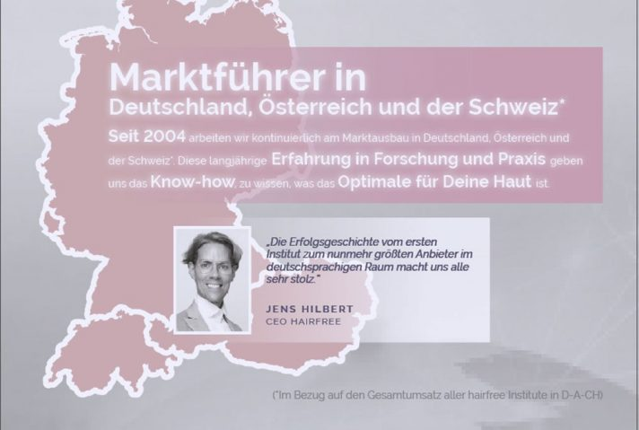 hairfree marktfuehrer