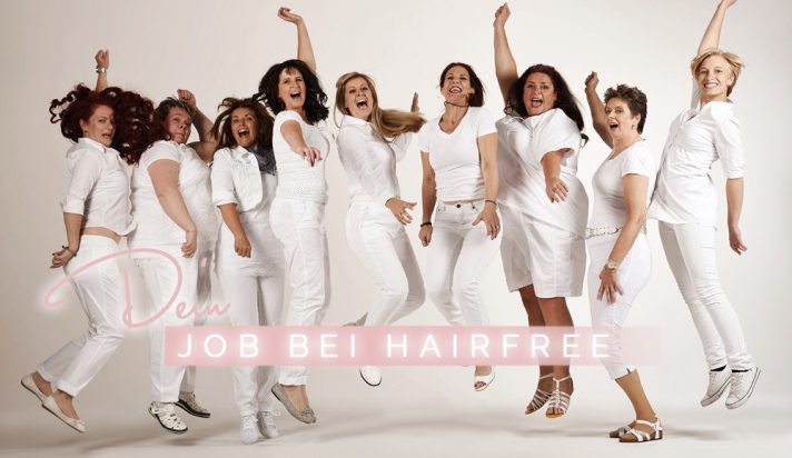 hairfree jobs karriere